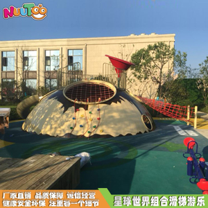Outdoor Planet World Combination Slide Non-standard Amusement Equipment Stainless Steel Combination Slide