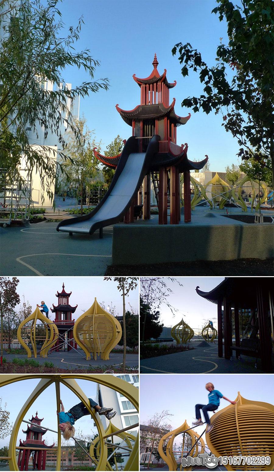 Non-standard amusement + personalized playground + amusement equipment + rides + outdoor children's play facilities _06