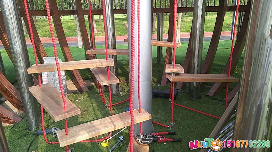 Walnut Paradise + Non-standard Amusement + Combination Slide + Amusement Equipment - (28)