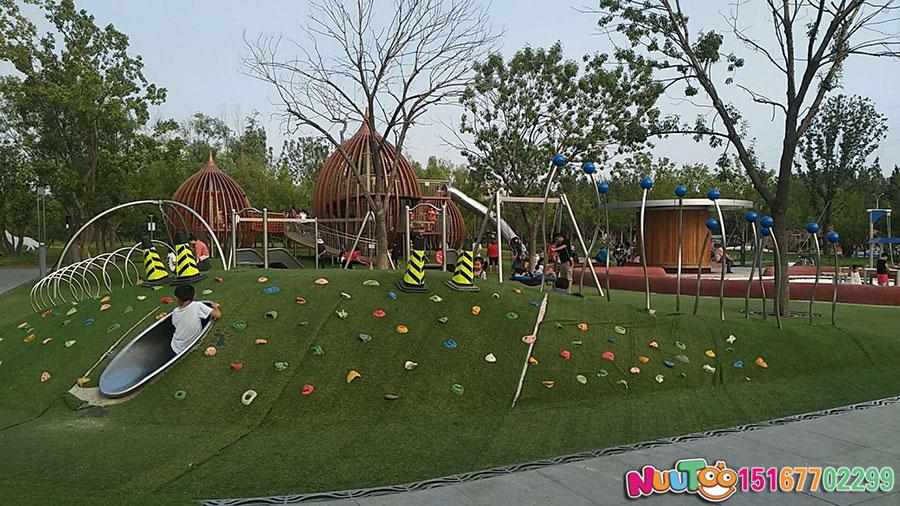 Walnut Paradise + Non-standard Amusement + Combination Slide + Amusement Equipment - (20)