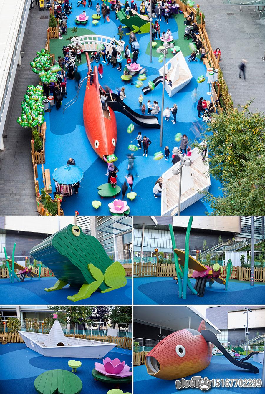 Non-standard amusement + personalized playground + amusement equipment + rides + outdoor children's play facilities _11