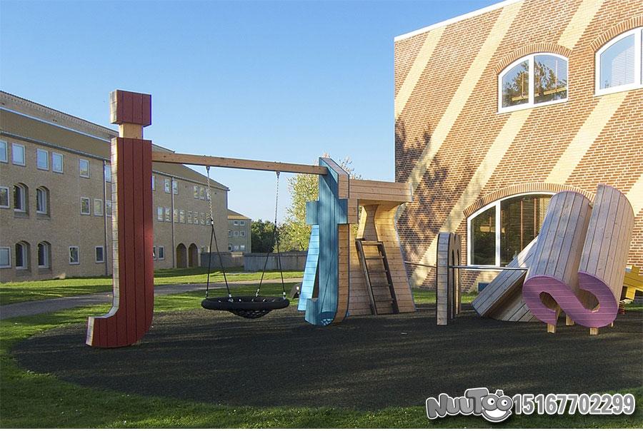 Non-standard amusement + personalized playground + amusement equipment + rides + outdoor children's play facilities _03